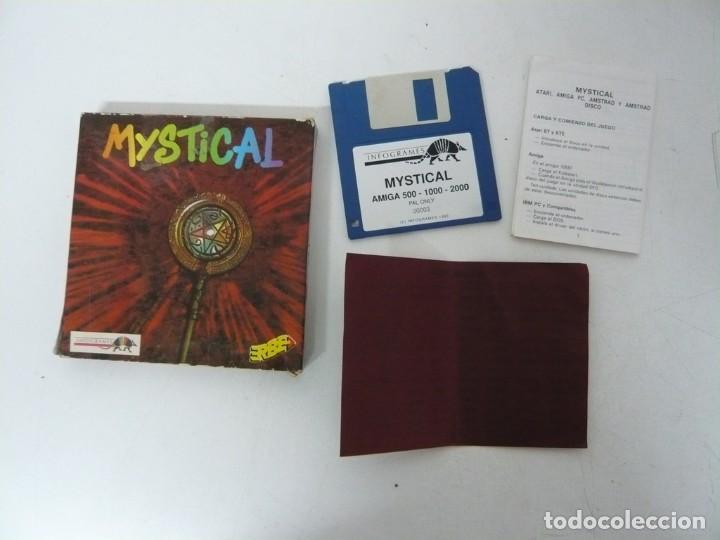 Videojuegos y Consolas: MYSTICAL / CAJA CARTÓN / COMMODORE AMIGA / RETRO VINTAGE / DISCO - DISKETTE - DISQUETE - Foto 4 - 253706650