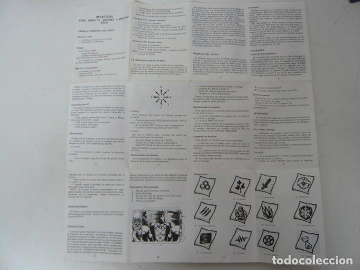 Videojuegos y Consolas: MYSTICAL / CAJA CARTÓN / COMMODORE AMIGA / RETRO VINTAGE / DISCO - DISKETTE - DISQUETE - Foto 6 - 253706650