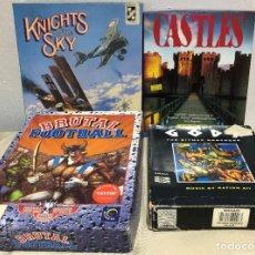 Videojuegos y Consolas: LOTE 4 JUEGOS COMMODORE AMIGA. Lote 259970100