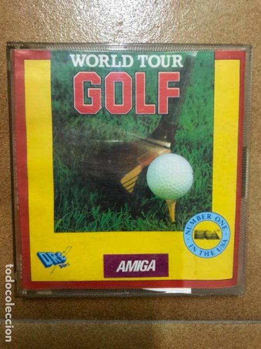 WORLD TOUR GOLF AMIGA (Juguetes - Videojuegos y Consolas - Amiga)