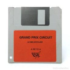 Videojuegos y Consolas: GRAND PRIX CIRCUIT DRO SOFT ESPAÑA ACCOLADE 1990 MOTORCYCLE CARRERA MOTOS COMMODORE AMIGA DISKETTE. Lote 260777990