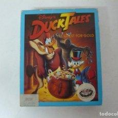 Videojuegos y Consolas: DUCK TALES - THE QUEST FOR GOLD / CAJA CARTÓN / COMMODORE AMIGA / RETRO VINTAGE / DISKETTE DISQUETE. Lote 261575840