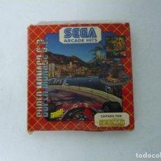 Videojuegos y Consolas: SUPER MONACO GP / CAJA CARTÓN / COMMODORE AMIGA / RETRO VINTAGE / DISKETTE - DISQUETE. Lote 263129890