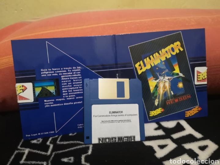 Videojuegos y Consolas: Eliminator Commodore Amiga - Foto 2 - 267585914