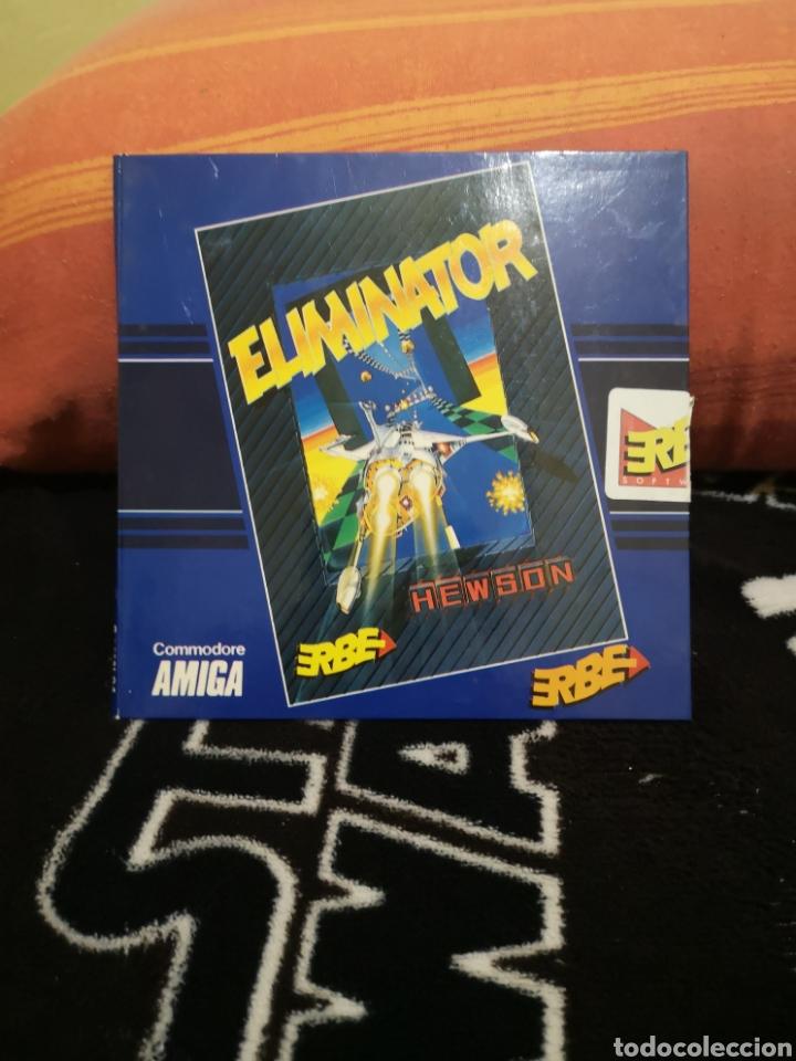 ELIMINATOR COMMODORE AMIGA (Juguetes - Videojuegos y Consolas - Amiga)