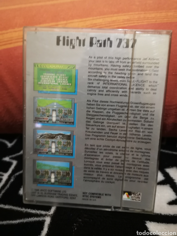 Videojuegos y Consolas: Flight Path 737 Commodore Amiga - Foto 2 - 267587599