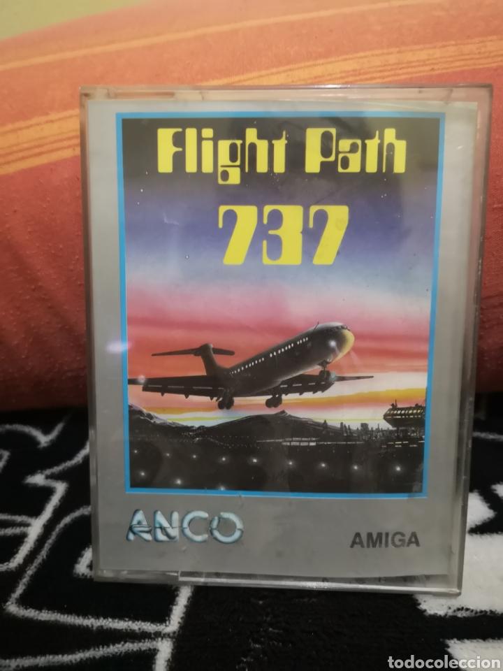 FLIGHT PATH 737 COMMODORE AMIGA (Juguetes - Videojuegos y Consolas - Amiga)