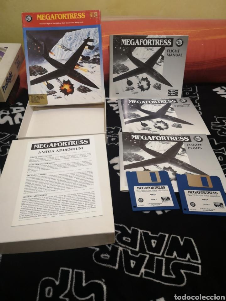 MEGAFORTRESS COMMODORE AMIGA. (Juguetes - Videojuegos y Consolas - Amiga)