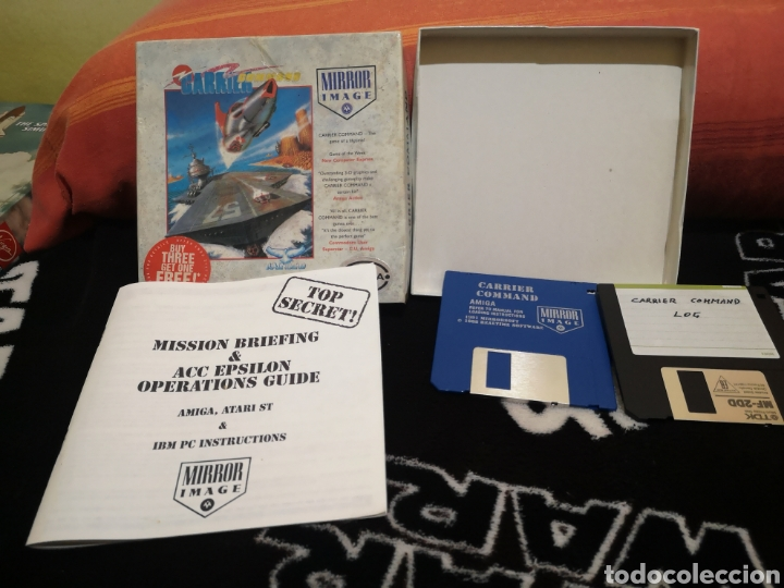 Videojuegos y Consolas: Carrier Command Commodore Amiga - Foto 3 - 267588989