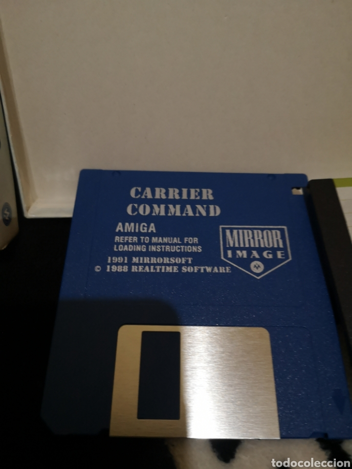 Videojuegos y Consolas: Carrier Command Commodore Amiga - Foto 4 - 267588989