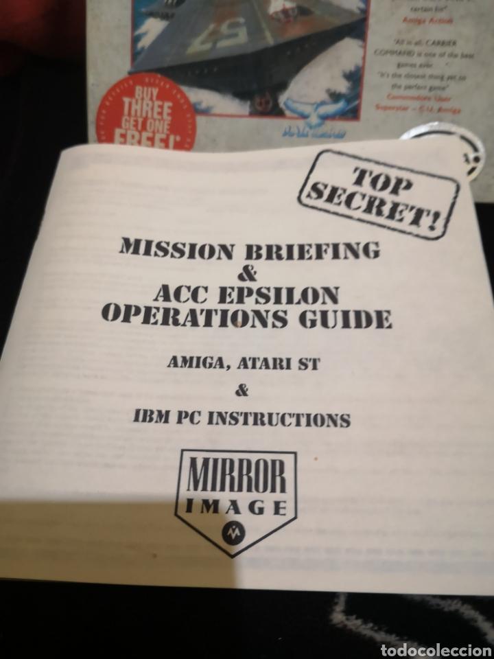 Videojuegos y Consolas: Carrier Command Commodore Amiga - Foto 5 - 267588989