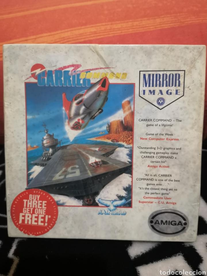 CARRIER COMMAND COMMODORE AMIGA (Juguetes - Videojuegos y Consolas - Amiga)
