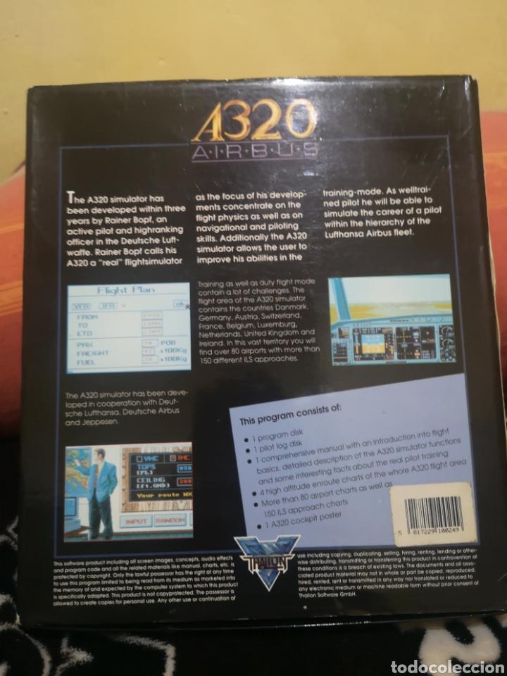 Videojuegos y Consolas: A320 Airbus Commodore Amiga completo - Foto 2 - 267589439