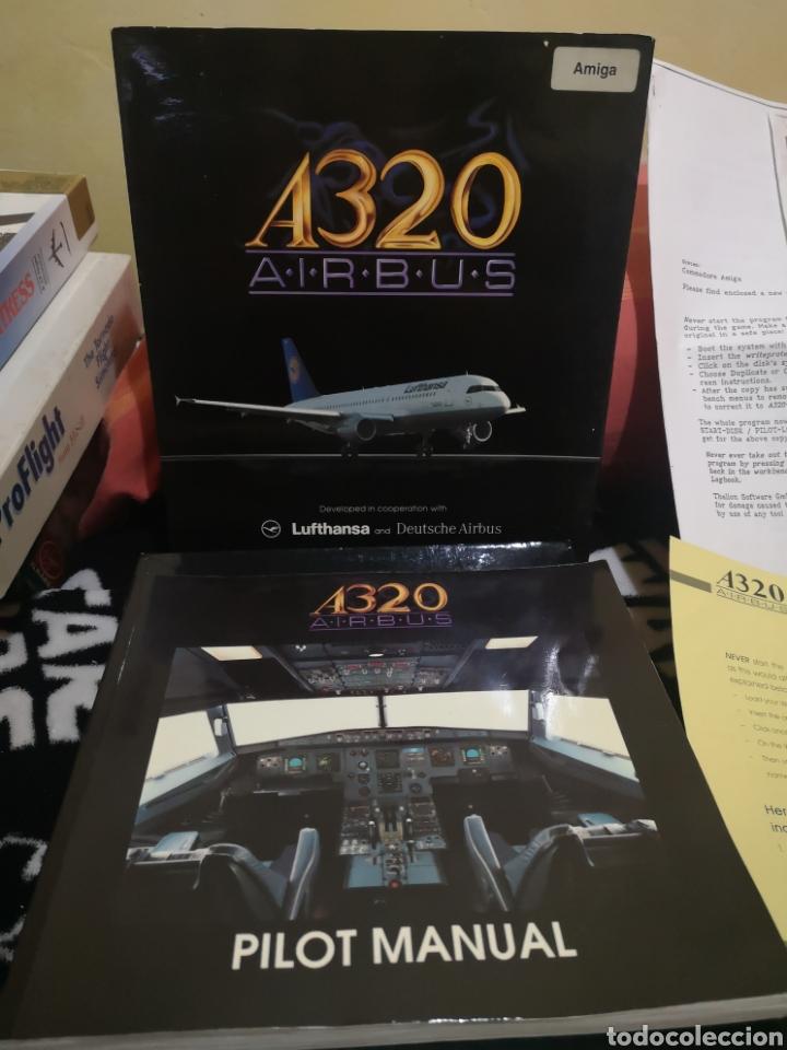Videojuegos y Consolas: A320 Airbus Commodore Amiga completo - Foto 4 - 267589439