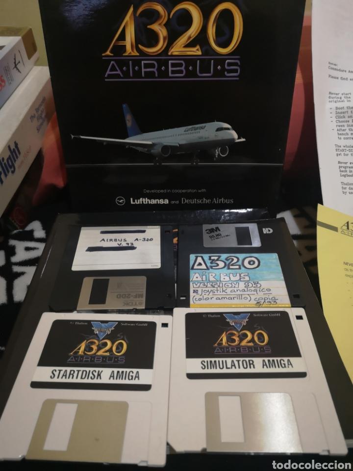 Videojuegos y Consolas: A320 Airbus Commodore Amiga completo - Foto 5 - 267589439