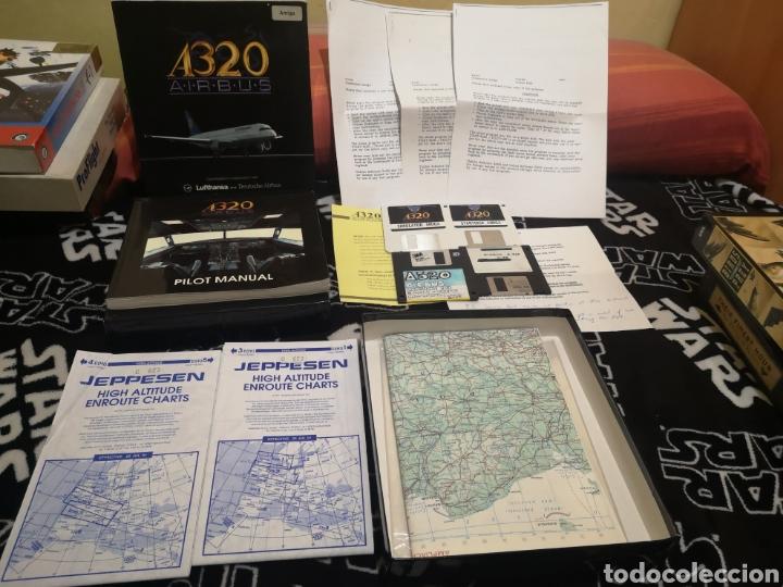 Videojuegos y Consolas: A320 Airbus Commodore Amiga completo - Foto 10 - 267589439