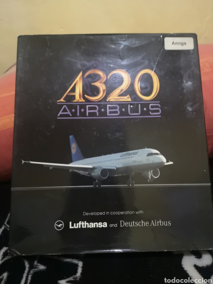 A320 AIRBUS COMMODORE AMIGA COMPLETO (Juguetes - Videojuegos y Consolas - Amiga)