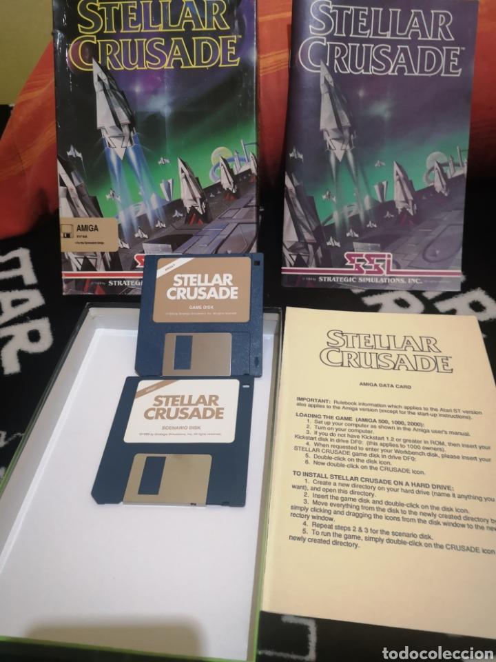 Videojuegos y Consolas: Stellar Crusade Commodore Amiga - Foto 3 - 267591759