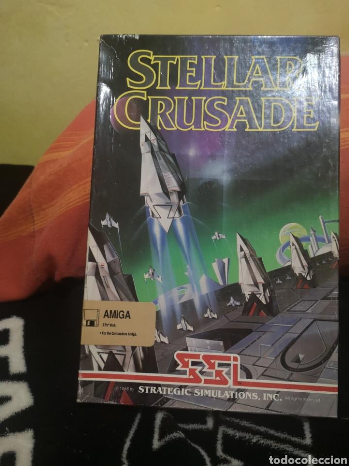 STELLAR CRUSADE COMMODORE AMIGA (Juguetes - Videojuegos y Consolas - Amiga)