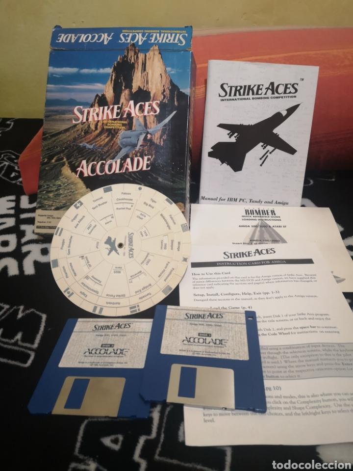 Videojuegos y Consolas: Strike Aces Commodore Amiga - Foto 2 - 267592149