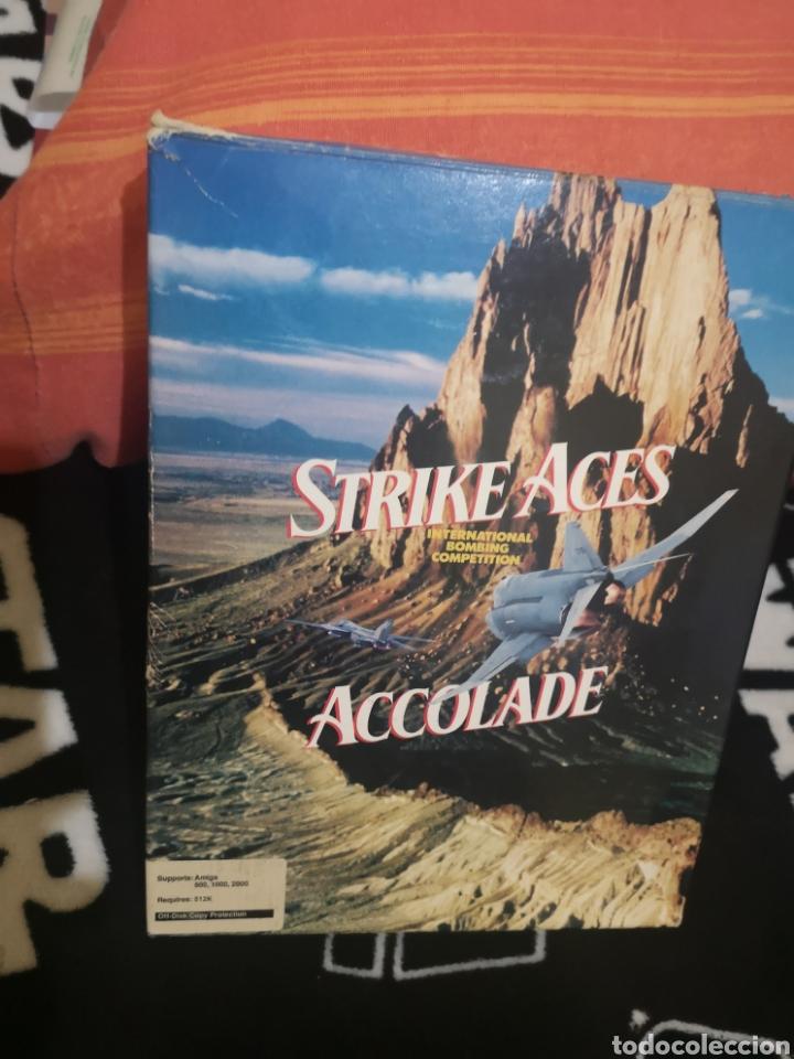 STRIKE ACES COMMODORE AMIGA (Juguetes - Videojuegos y Consolas - Amiga)
