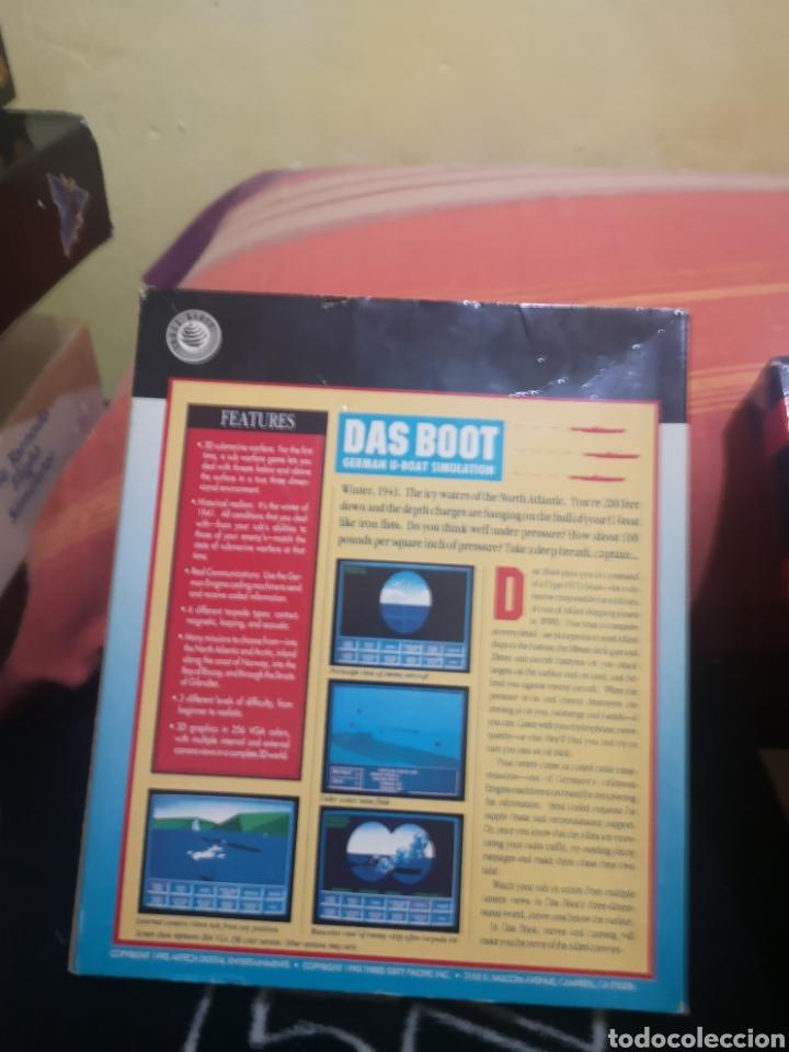 Videojuegos y Consolas: Das boot german U-boat simulation Commodore Amiga - Foto 2 - 267592489