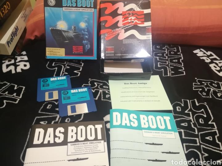 Videojuegos y Consolas: Das boot german U-boat simulation Commodore Amiga - Foto 3 - 267592489