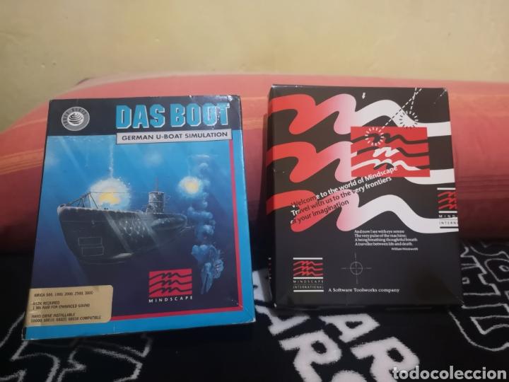 Videojuegos y Consolas: Das boot german U-boat simulation Commodore Amiga - Foto 4 - 267592489