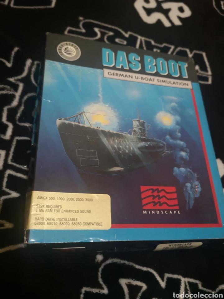 DAS BOOT GERMAN U-BOAT SIMULATION COMMODORE AMIGA (Juguetes - Videojuegos y Consolas - Amiga)