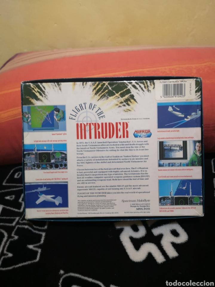 Videojuegos y Consolas: Fligh of the intruder Commodore Amiga completo - Foto 2 - 267592934