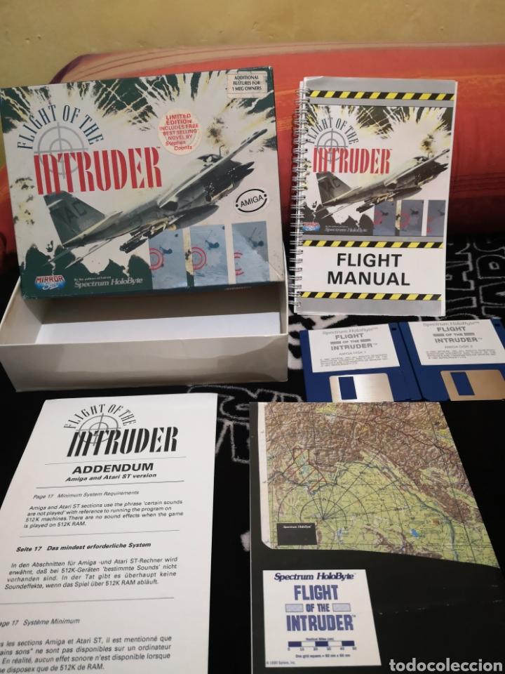 Videojuegos y Consolas: Fligh of the intruder Commodore Amiga completo - Foto 3 - 267592934