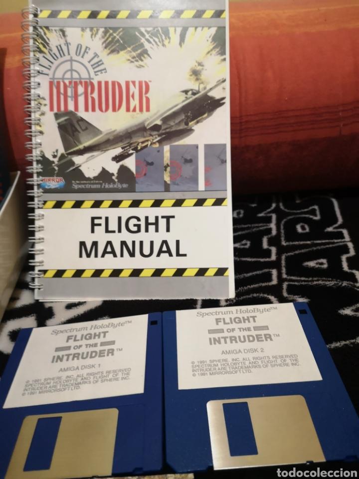 Videojuegos y Consolas: Fligh of the intruder Commodore Amiga completo - Foto 4 - 267592934