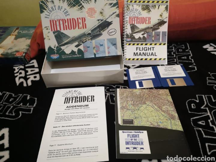 Videojuegos y Consolas: Fligh of the intruder Commodore Amiga completo - Foto 5 - 267592934