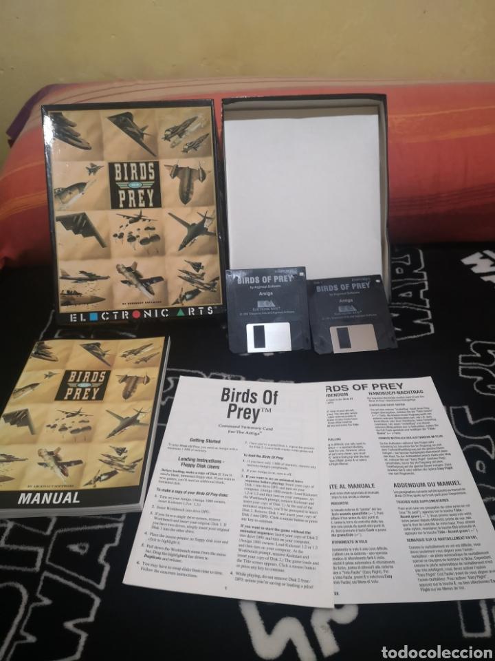 Videojuegos y Consolas: Birds of prey Commodore Amiga completo - Foto 5 - 267593274