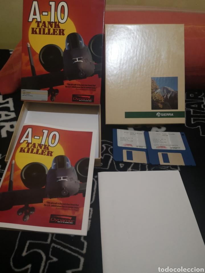 Videojuegos y Consolas: A-10 Tank Killer Commodore Amiga - Foto 2 - 267593619