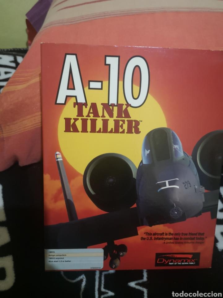 A-10 TANK KILLER COMMODORE AMIGA (Juguetes - Videojuegos y Consolas - Amiga)