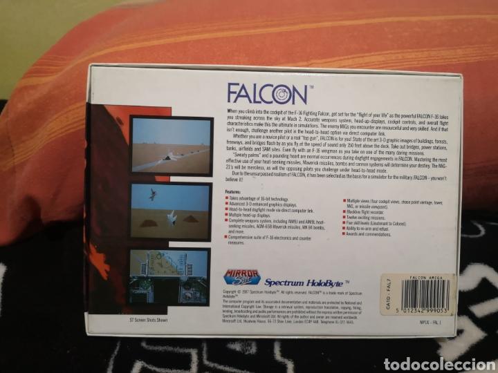 Videojuegos y Consolas: Falcon Commodore Amiga caja grande - Foto 2 - 267595664