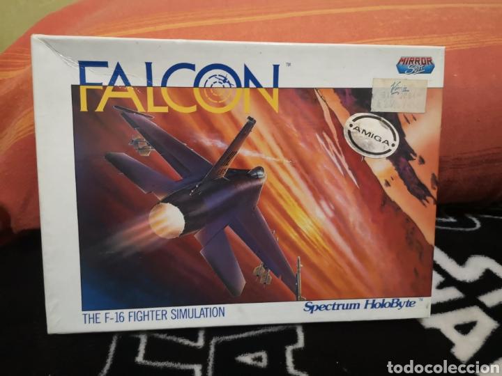 FALCON COMMODORE AMIGA CAJA GRANDE (Juguetes - Videojuegos y Consolas - Amiga)