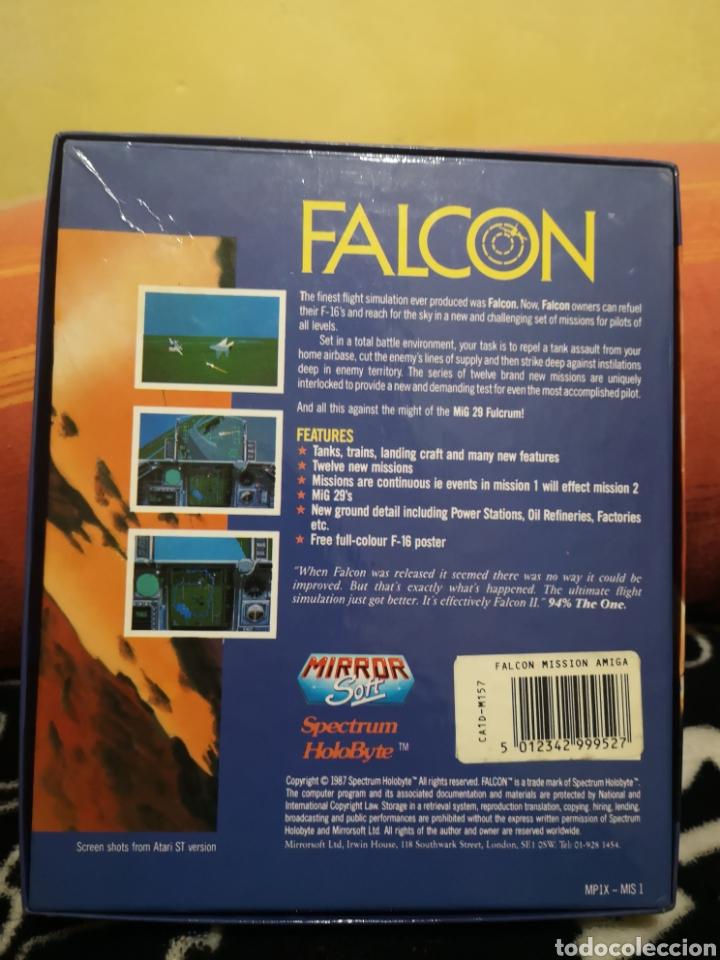 Videojuegos y Consolas: Falcon the mission disk Commodore Amiga - Foto 2 - 267596149