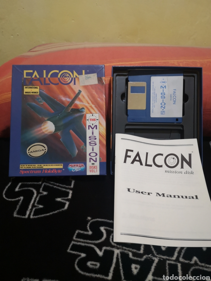 Videojuegos y Consolas: Falcon the mission disk Commodore Amiga - Foto 3 - 267596149