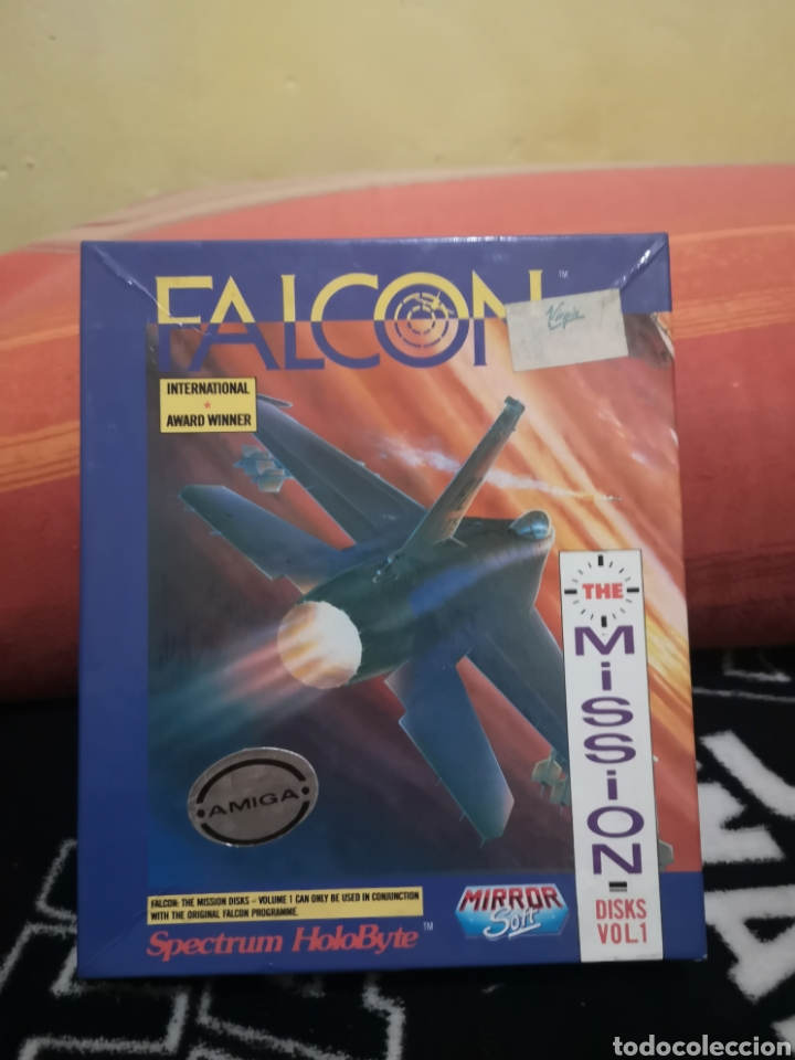 FALCON THE MISSION DISK COMMODORE AMIGA (Juguetes - Videojuegos y Consolas - Amiga)