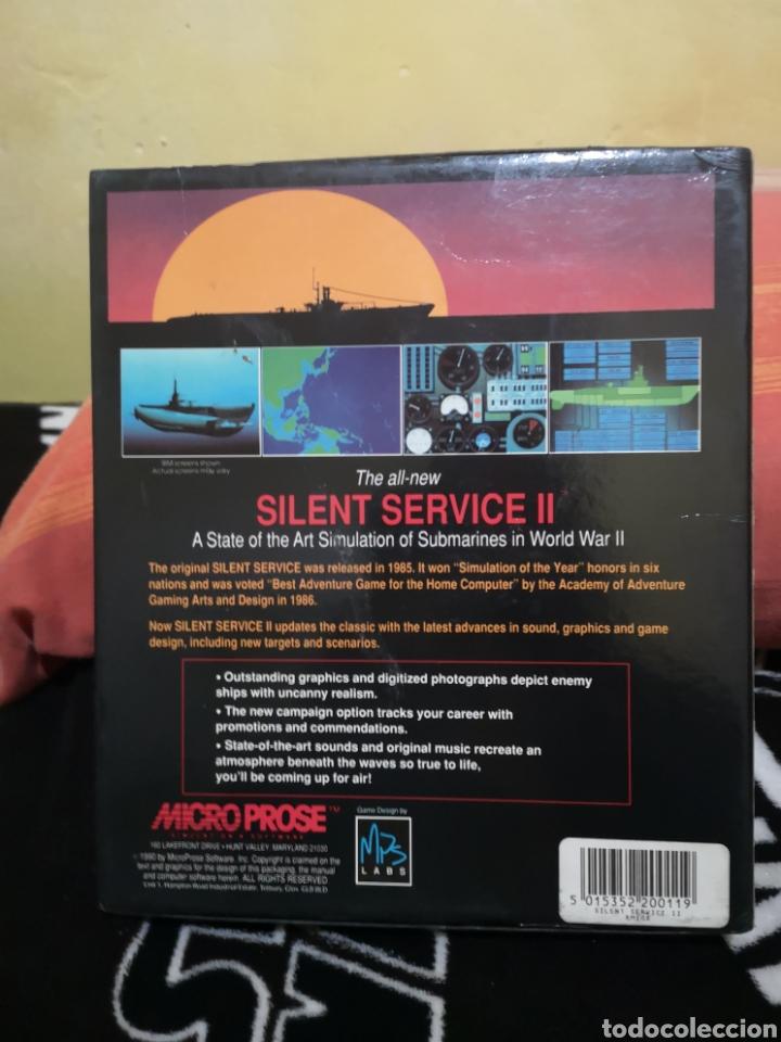 Videojuegos y Consolas: Silent service II Commodore Amiga - Foto 2 - 267596684