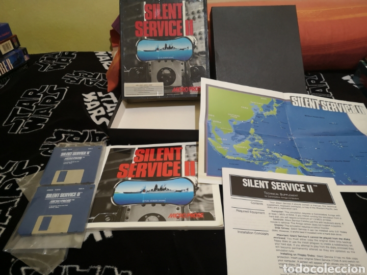 Videojuegos y Consolas: Silent service II Commodore Amiga - Foto 3 - 267596684