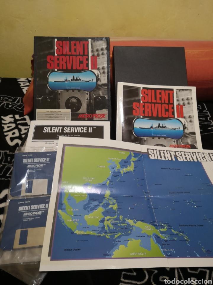 Videojuegos y Consolas: Silent service II Commodore Amiga - Foto 5 - 267596684