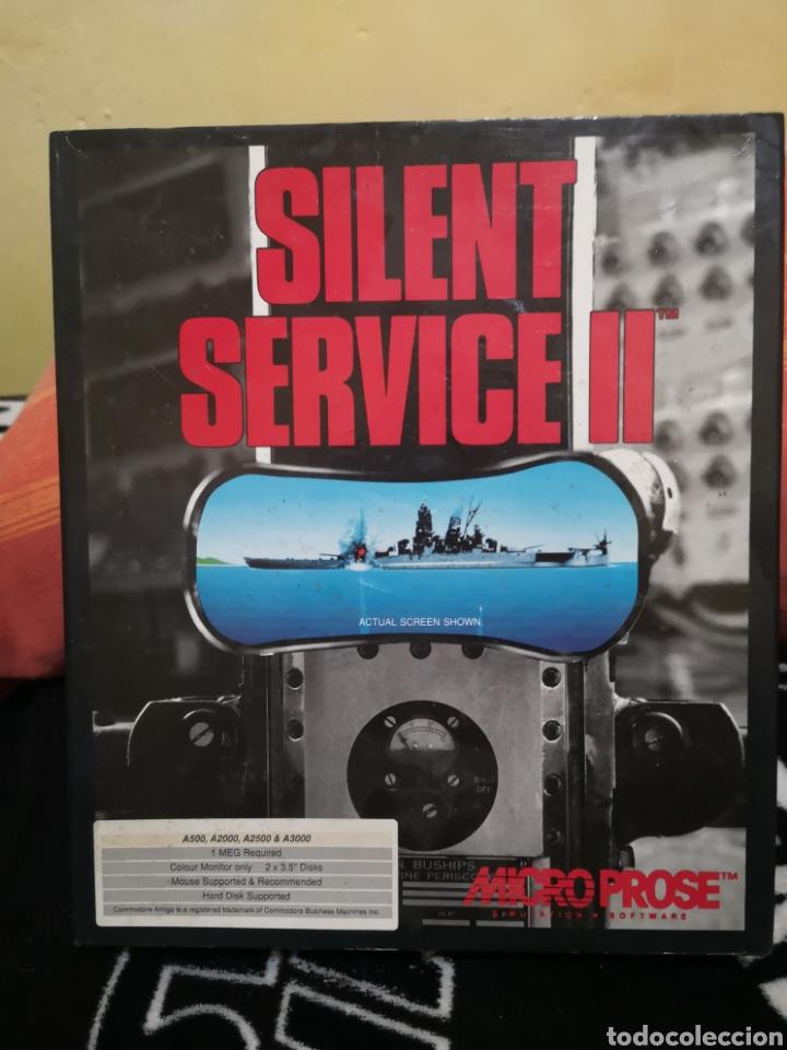 SILENT SERVICE II COMMODORE AMIGA (Juguetes - Videojuegos y Consolas - Amiga)
