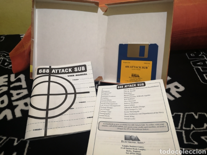 Videojuegos y Consolas: 688 attack sub Commodore Amiga - Foto 4 - 267598344