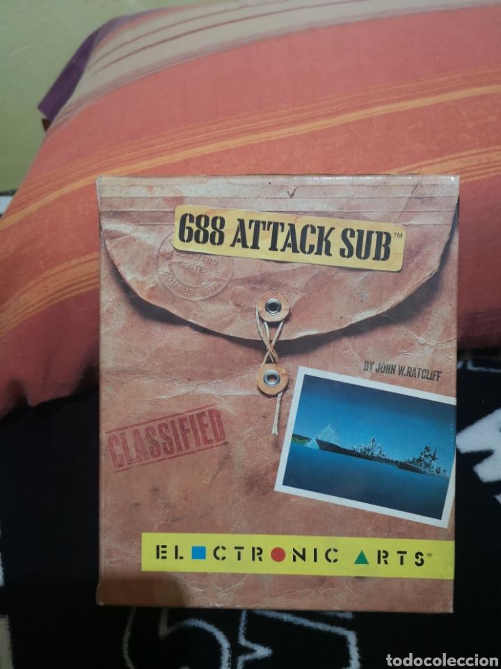 688 ATTACK SUB COMMODORE AMIGA (Juguetes - Videojuegos y Consolas - Amiga)