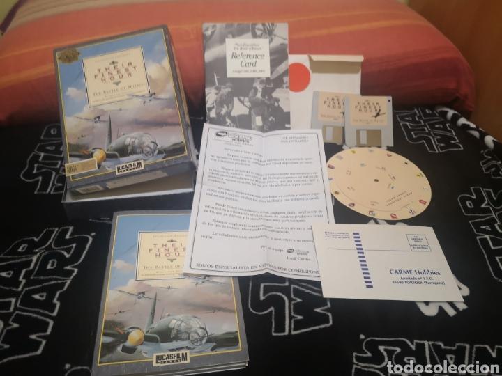 Videojuegos y Consolas: Their Finest Hour Commodore Amiga - Foto 2 - 267599529