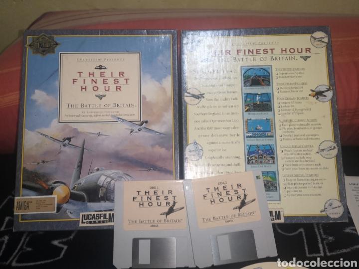 Videojuegos y Consolas: Their Finest Hour Commodore Amiga - Foto 5 - 267599529