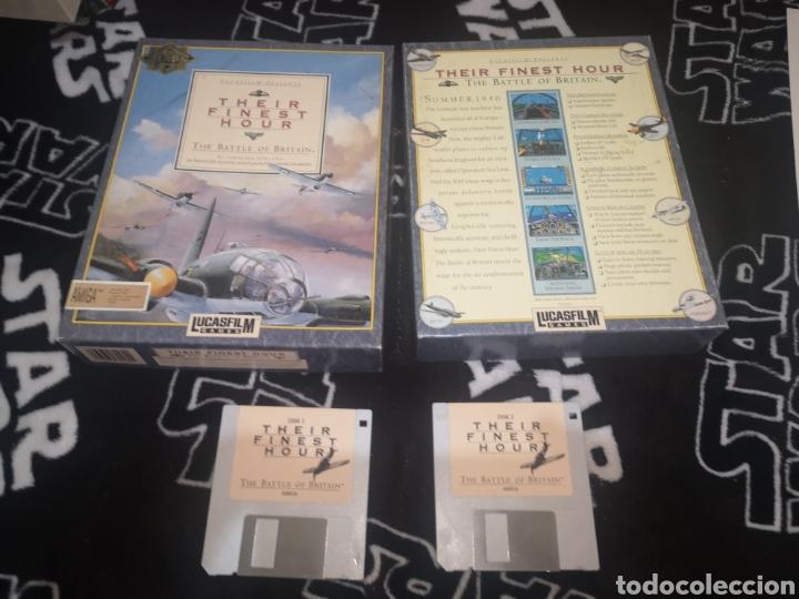 Videojuegos y Consolas: Their Finest Hour Commodore Amiga - Foto 8 - 267599529
